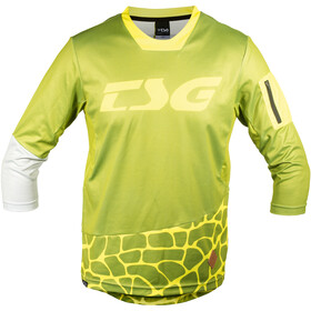 TSG AK3 3/4 LS Jersey Herre olive-yellow